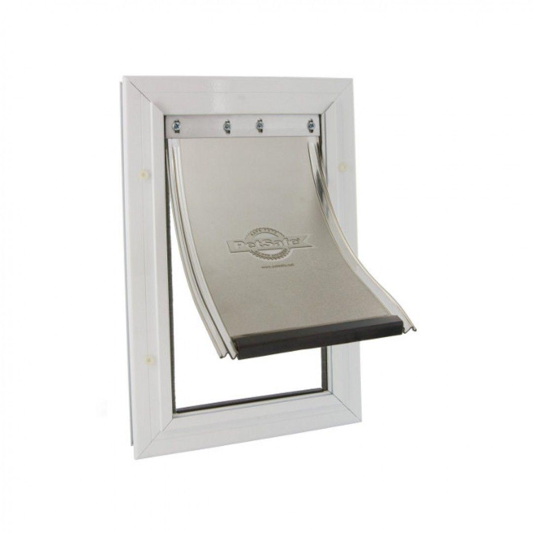 Дверца PetSafe алюминиевая для крупных кошек и средних собак до 18кг белая 400*277мм от Ravta