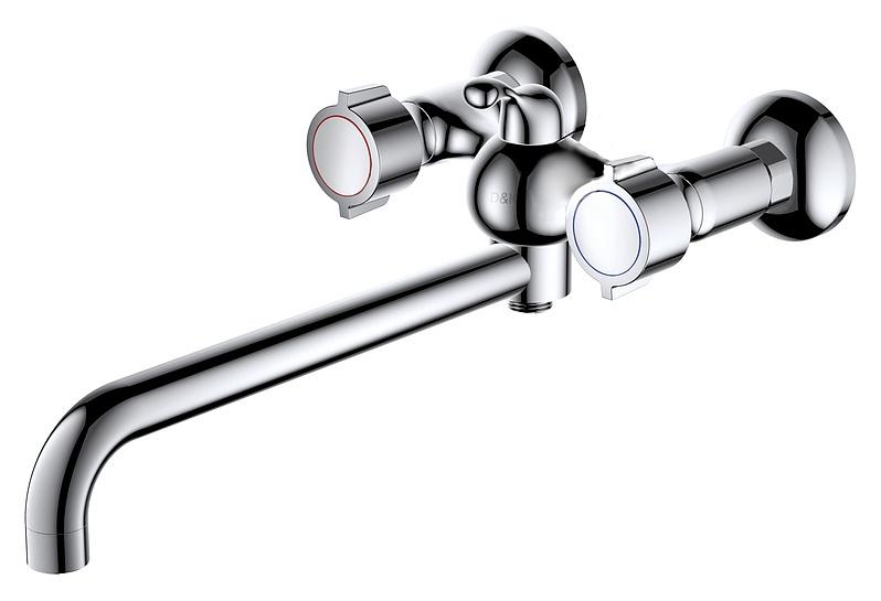 Смеситель для ванны D&amp;K (арт.DA1413341)Смесители<br><br><br>Артикул: DA1413341<br>Бренд: D&amp;K<br>Страна-изготовитель: Китай<br>Вид смесителя: Смеситель для ванны