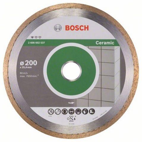 Диск алмазный BOSCH 200_25.4_1.6 по керамике кафелю сплошной (2608602537) Professional Ceramic 2608602537 от Ravta