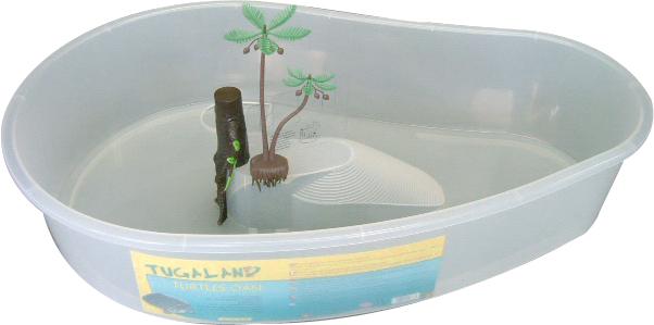 croci Черепашник с аксессуарами, 72*46*15 см, пластик T2027666