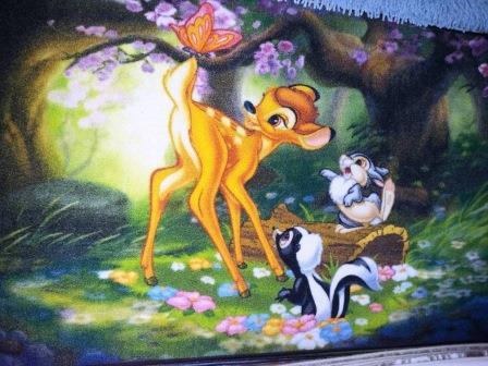 Ковер детский Dinarsu Disney Мир животных (арт.D3AN001) зеленый 800*1330мм от Ravta