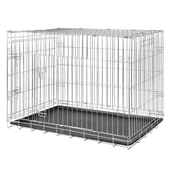 Транспортная клетка TRIXIE с 2 дверями 115 х 75 х 85 смКлетки, вольеры, переноски<br><br><br>Артикул: 3926<br>Бренд: TRIXIE<br>Вид: Переноски<br>Страна-изготовитель: Китай