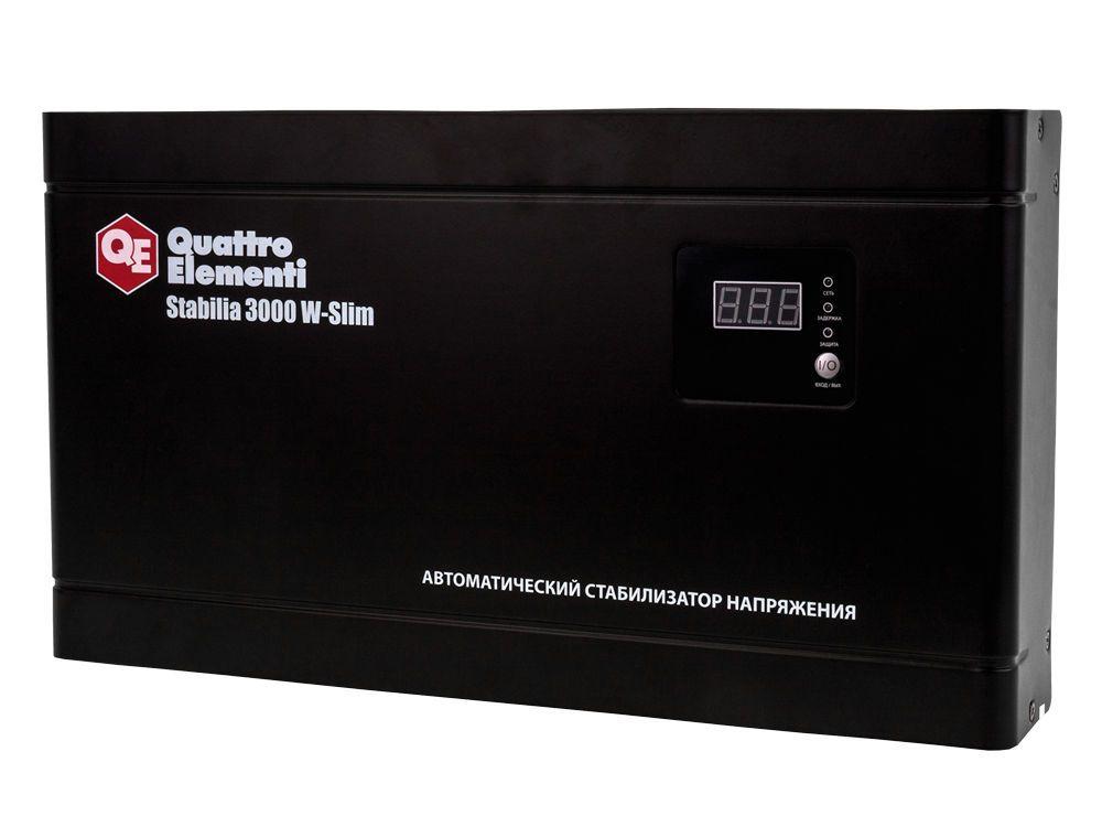 Стабилизатор напряжения QE Stabilia 3000 W-Slim от Ravta