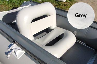 badger Кресло надувное (74х66х66 см), Grey TRON70grey_N2