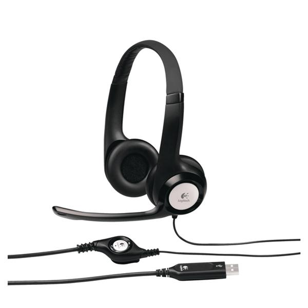 Гарнитура Logitech H390 Headset USB (981-000406) от Ravta