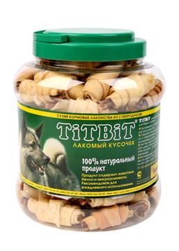 TiTBiT Рогалики из кожи с начинкой, банка, 4,3л (0264) от Ravta
