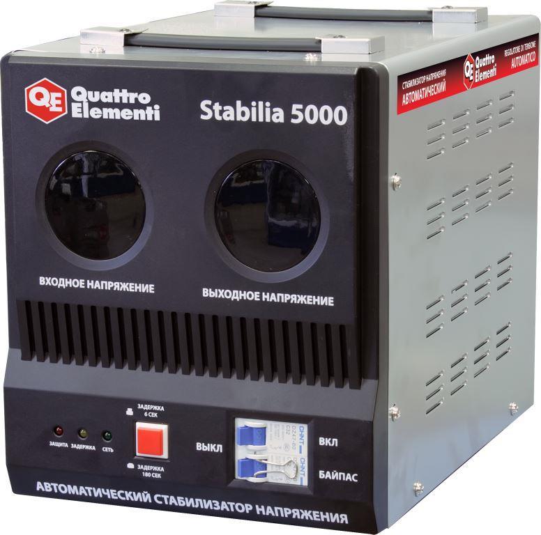 Стабилизатор напряжения QE Stabilia 5000 от Ravta