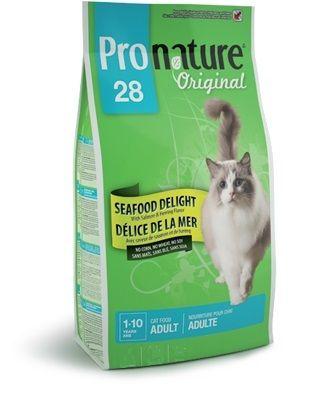 Корм Пронатюр 28  для кошек  Океан Удовольствия цыпленок и морепр-ты  2,72кгПовседневные корма<br><br><br>Артикул: 102.418<br>Бренд: Pronature<br>Вид: Сухие<br>Страна-изготовитель: Канада<br>Вес упаковки (кг): 2,72<br>Ингредиенты: Кура<br>Для кого: Кошки<br>Особая серия: Океан удовольствия