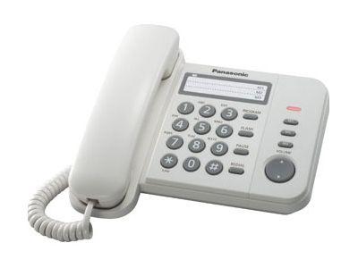 Телефон проводной Panasonic KX-TS2352RUW от Ravta