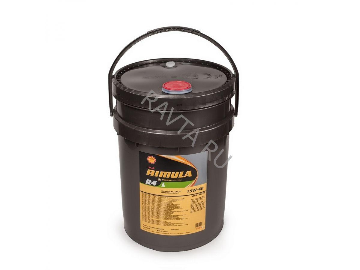 Масло Shell Rimula R4 L 15W-40 (20л) от Ravta