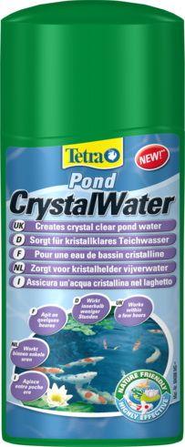 Препарат для водыTetraPond CrystalWater 1LПрепараты для ухода за прудом<br><br><br>Артикул: 231566<br>Бренд: Tetra<br>Страна-изготовитель: Германия