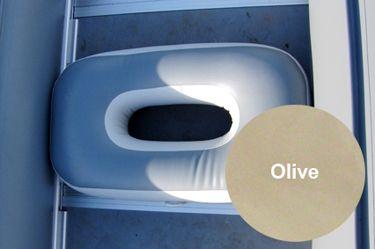 """Сиденье надувное """"овал"""" (95х45х22 см), Olive от Ravta"""