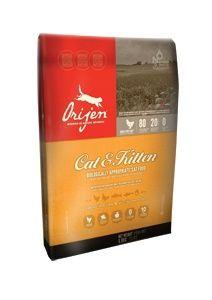Корм Orijen для кошек с курицей (Cat and Kitten), 6,8кгПовседневные корма<br><br><br>Артикул: 48651<br>Бренд: Orijen<br>Вес брутто (кг): 6,8<br>Страна-изготовитель: Канада<br>Вес упаковки (кг): 6,8<br>Ингредиенты: Кура