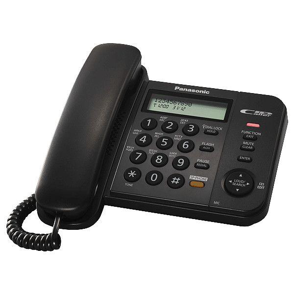 Телефон Panasonic KX-TS 2358RUB (черный) от Ravta
