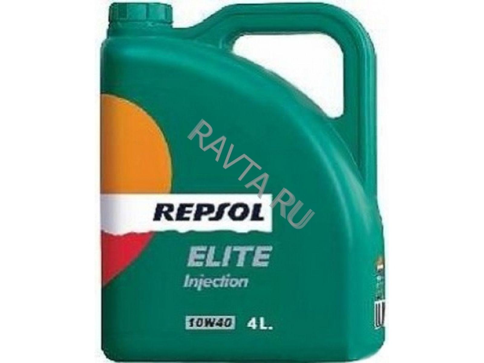 Масло Repsol Elite Injection 10W-40 (4л) от Ravta