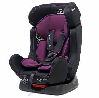 """Автокресло Rant """"Focus"""" (0-25 кг) (Purple/фиолетовый) серия Magic Line от Ravta"""