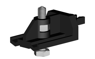 Комплект фурнитуры HS60/240 для 1 двери весом 60 кг Herkules с направляющей длиной 2400 мм от Ravta