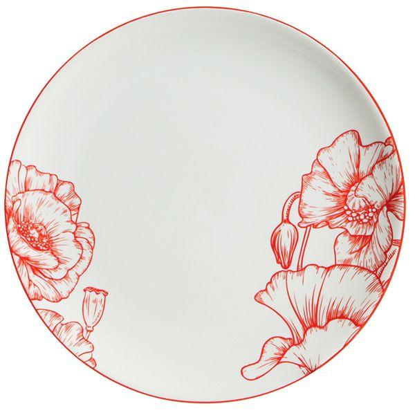 Набор тарелок обеденных Esprado La passion 6шт (арт.PS20D25E301) от Ravta