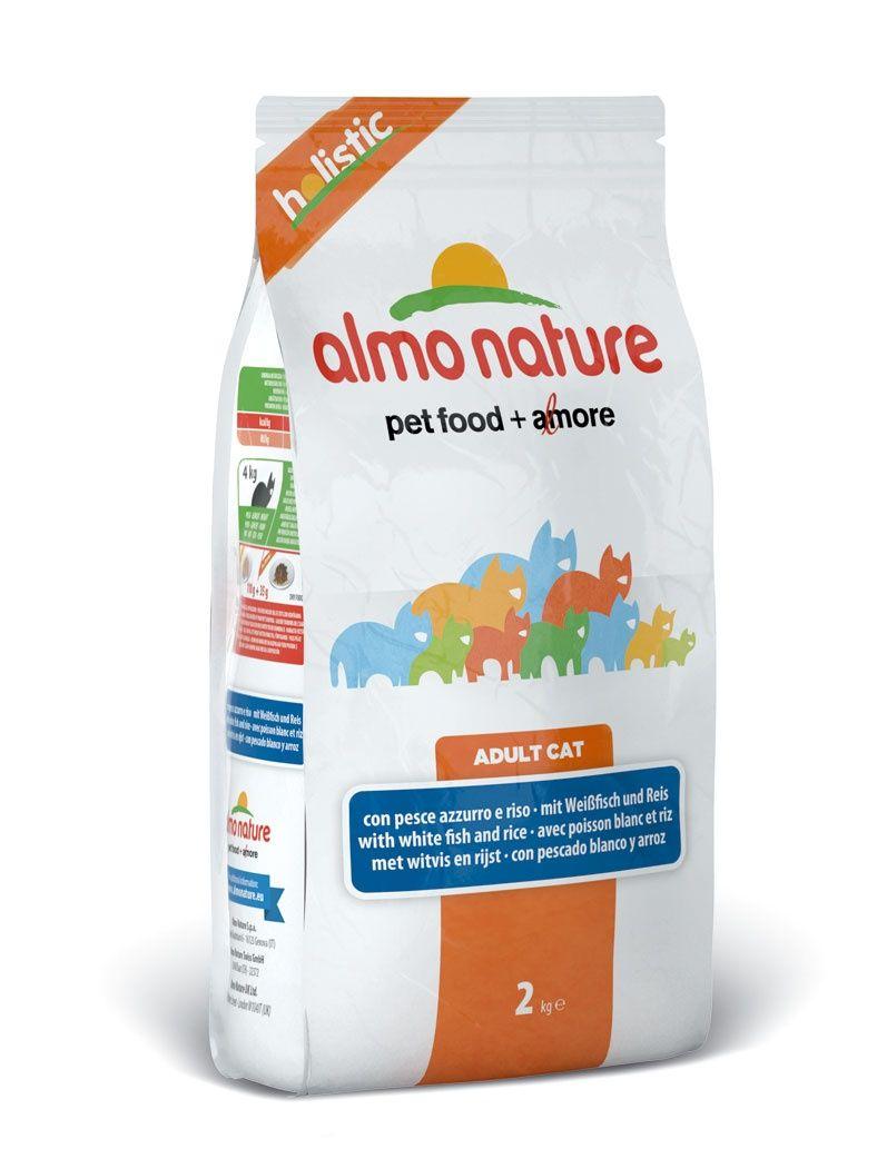 Корм Almo Nature холистик для Взрослых кошек с Белой рыбой и коричневым рисом 2кгПовседневные корма<br><br><br>Вес брутто (кг): 2<br>Артикул: 22592<br>Бренд: Almo Nature<br>Вид: Сухие<br>Страна-изготовитель: Таиланд<br>Вес упаковки (кг): 2<br>Ингредиенты: Рыба<br>Для кого: Кошки