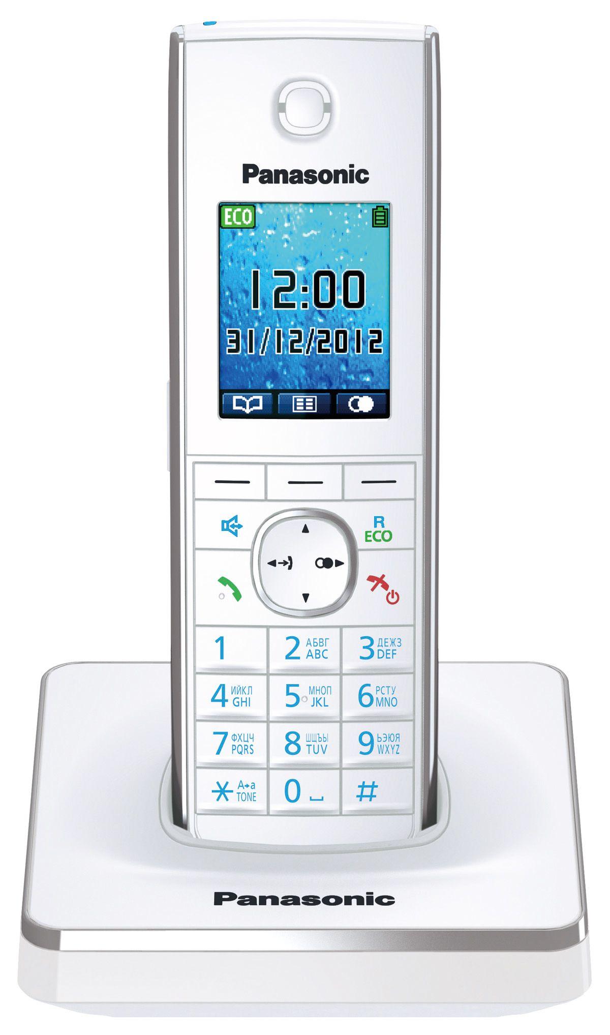 Телефон DECT Panasonic KX-TG8551RUW от Ravta