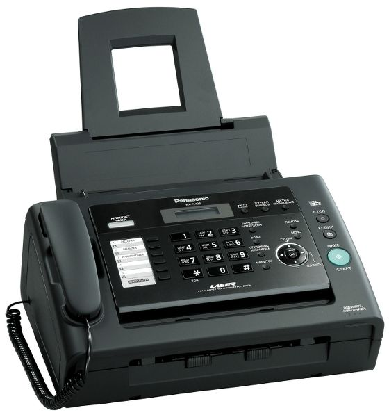 Факс Panasonic KX-FL423RUB (черный) от Ravta