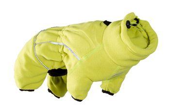 hurtta Комбинезон Hurtta микрофлисовый Jumpsuit, размер 70M, Светло-Зелёный (сп70,гр120см) 931118