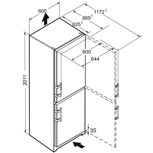 холодильник Liebherr Cnbs 4015 20 001 цена описание отзывы