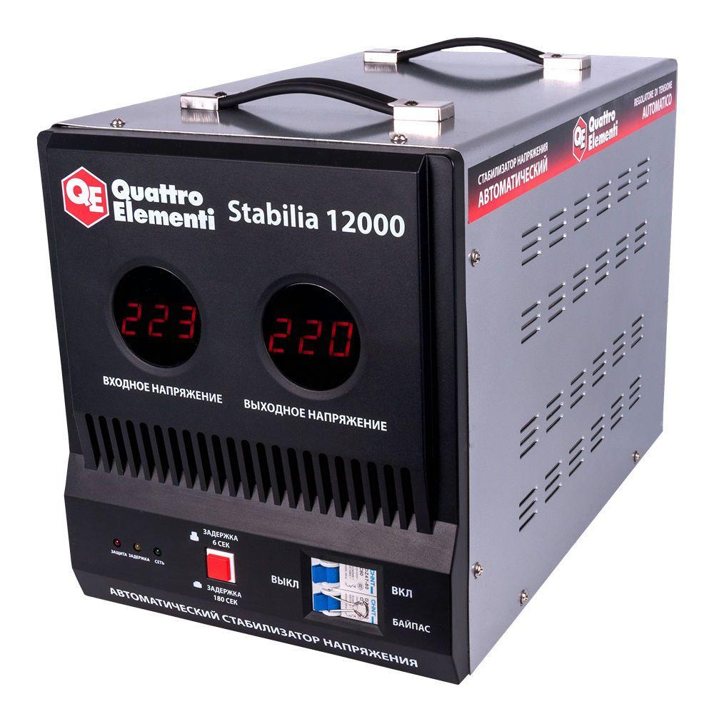 Стабилизатор напряжения QE Stabilia 12000 от Ravta