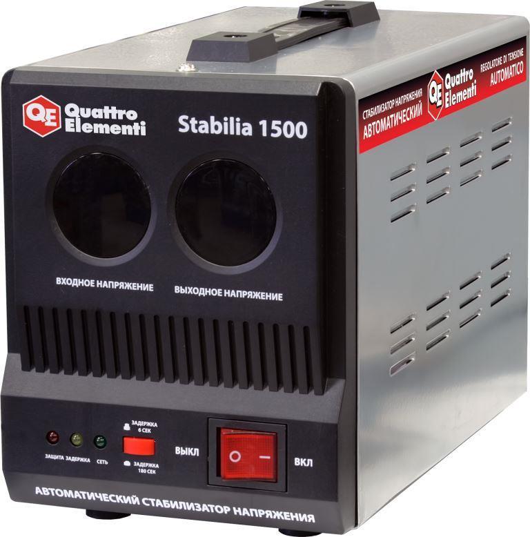 Стабилизатор напряжения QE Stabilia 1500 от Ravta