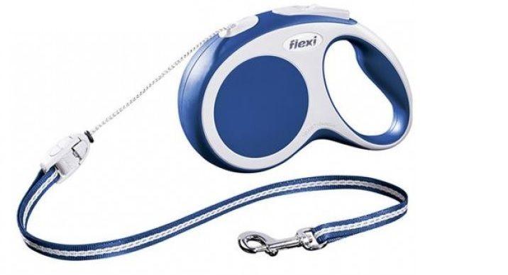 Рулетка Flexi Vario S  (трос) 5м/12 кг синий - FLEXIАмуниция<br><br><br>Артикул: 279.576<br>Бренд: FLEXI<br>Вид: Рулетки<br>Высота упаковки (мм): 0,2<br>Длина упаковки (мм): 0,195<br>Ширина упаковки (мм): 0,035<br>Вес брутто (кг): 0,26<br>Страна-изготовитель: Германия<br>Размер/порода: Малые<br>Для кого: Собаки