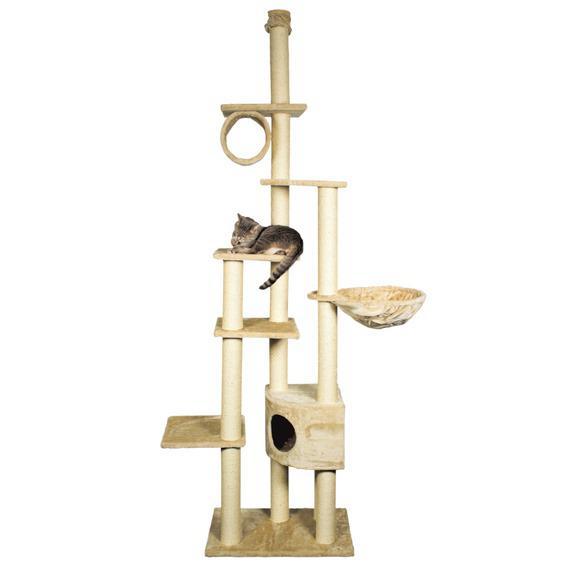 Домик TRIXIE для кошки Madrid 240-270 см, бежевыйДомики, лежаки, когтеточки<br><br><br>Артикул: 43901<br>Бренд: TRIXIE<br>Вид: Домики<br>Страна-изготовитель: Китай