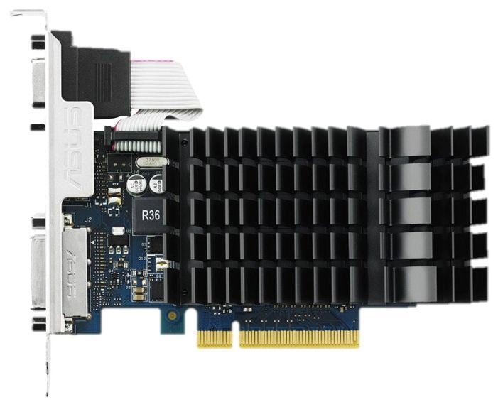 Видеокарта ASUS GeForce GT730 GT730-SL-2GD3-BRK 2Гб VGA PCIE8  GDDR3 от Ravta