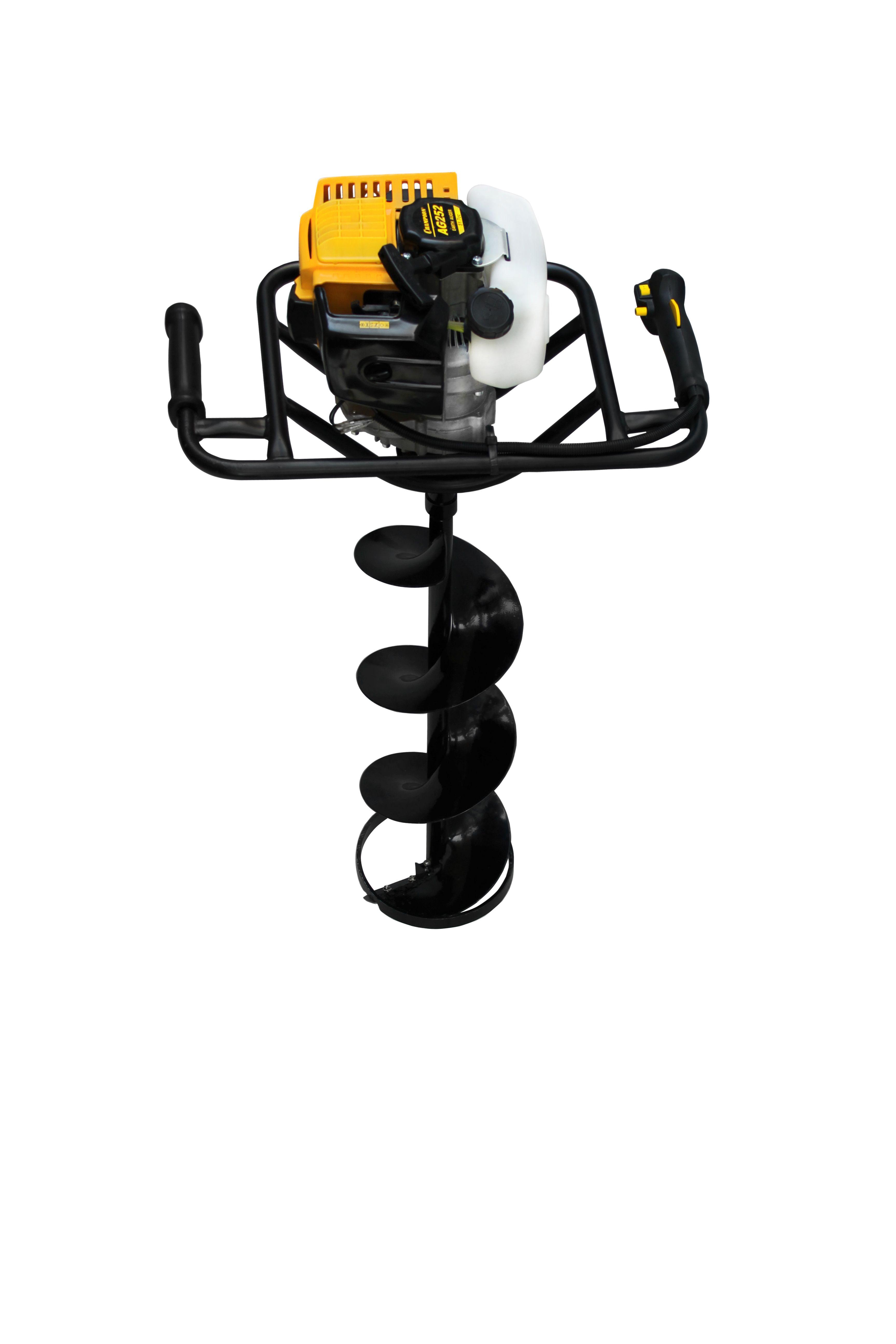 Моторный бур CHAMPION AG252, 1.6кВт 51.7см/куб бур80-200мм 9.2кг + бур200*550мм AG252 от Ravta