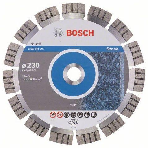 Диск алмазный турбосегментный BOSCH Best for STONE 230 x 22 мм (1 шт.) от Ravta