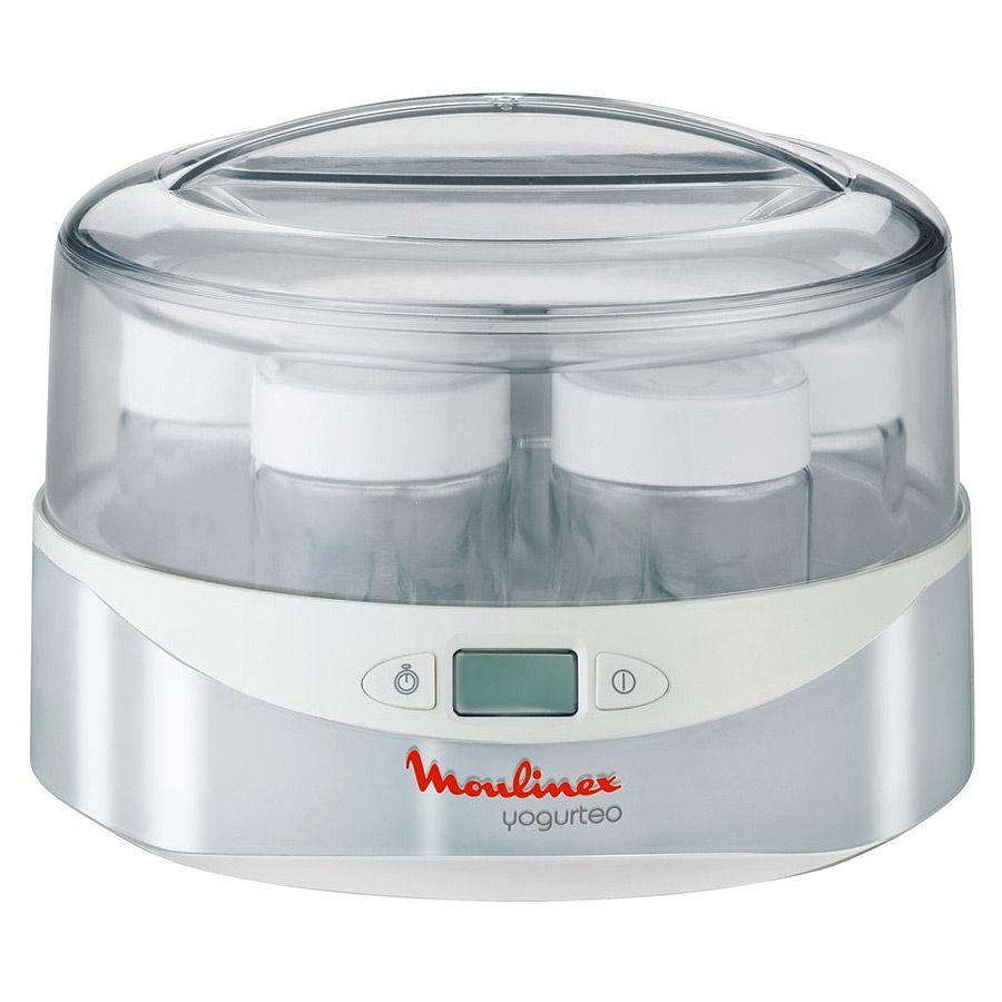 Йогуртница Moulinex YG 230131Йогуртницы, мороженицы<br><br><br>Бренд: Moulinex<br>Объем (л): 0<br>Потребляемая мощность (Вт): 13<br>Материал баночек: стекло<br>Количество баночек: 7<br>Гарантия производителя: да<br>Общий объем (л): 0,98<br>Объем (л): 0