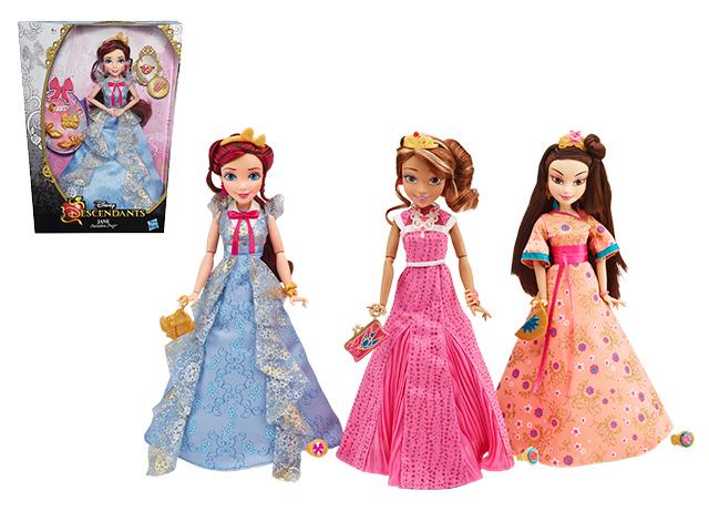 Куклы  в ассортименте (Одри, Логи, Джейн) DESCENDANTS (B3123EU4) от Ravta