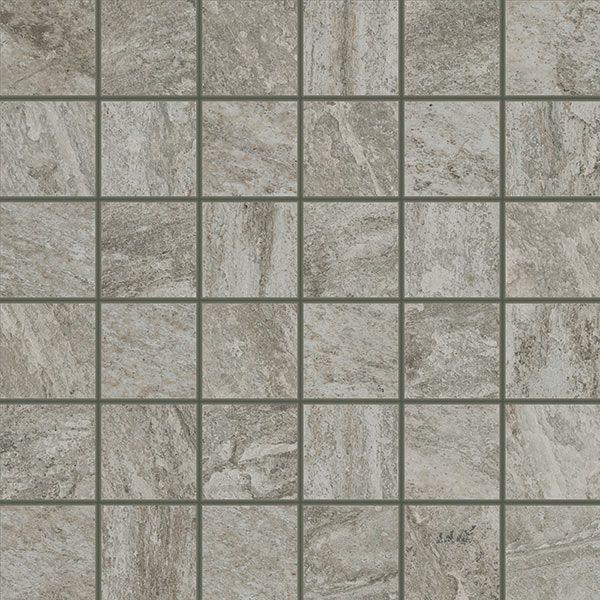 Керамогранит напольный декор Coliseum Gres Альпы Мозаика серый 300*300 (шт) от Ravta