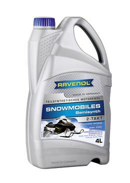 Масло Ravenol Snowmobiles Teilsynth. 2T для снегоходов (4014835728592) (4л) от Ravta