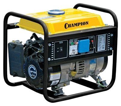Генератор CHAMPION  GG1300Генераторы и электростанции<br><br><br>Артикул: GG1300<br>Бренд: Champion<br>Родина бренда: Япония