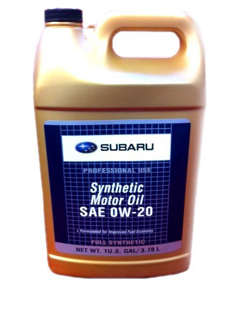 Масло Subaru 0W-20 (3,78л) от Ravta