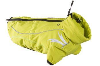hurtta Жакет тёплый Hurtta Frost Jacket 80 (длина спины 80см), Светло-Зелёный 931079
