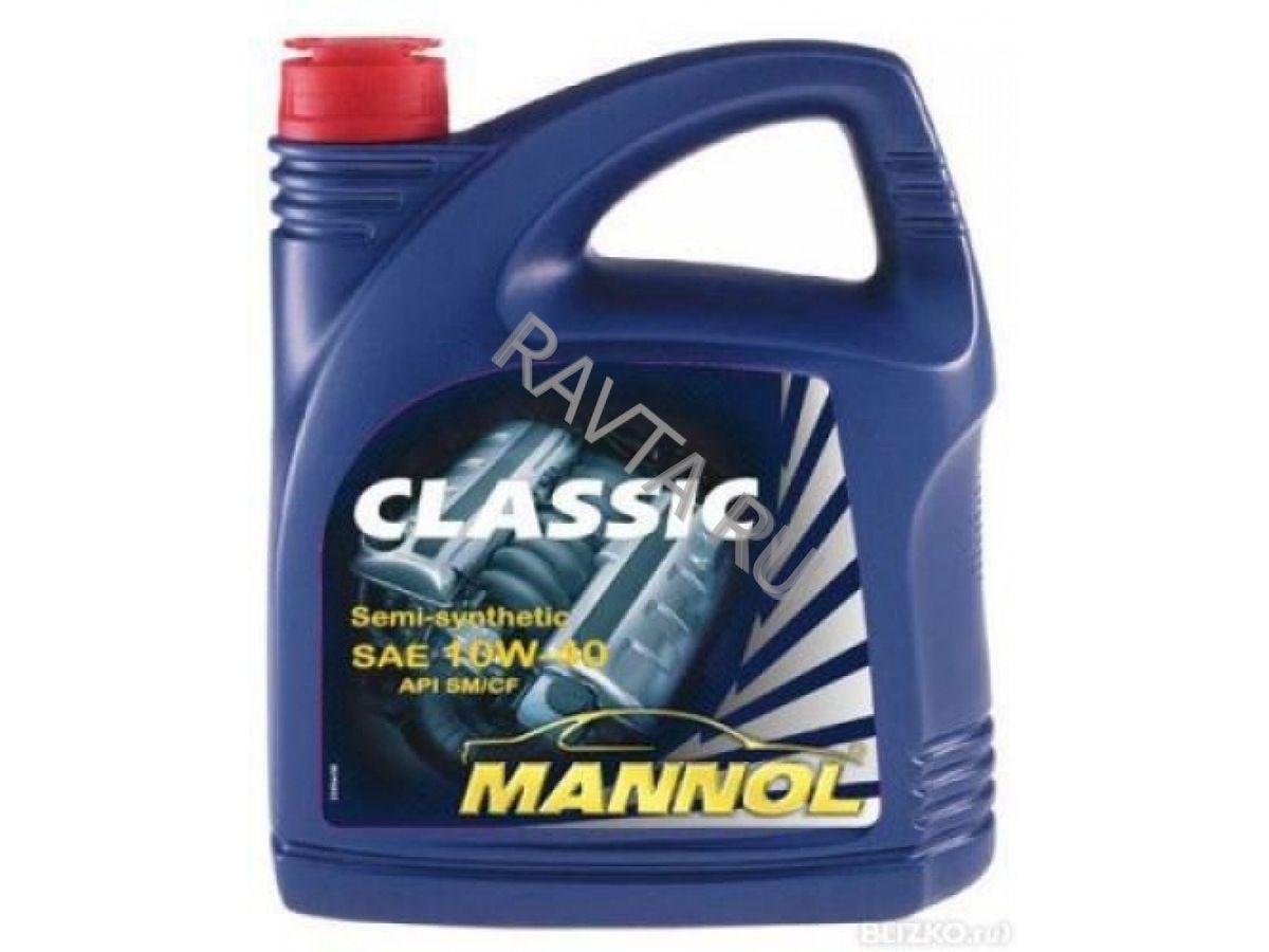 Масло Mannol CLASSIC 10W 40 (4л) от Ravta