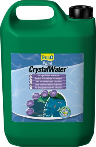 Препарат для водыTetraPond CrystalWater 3LПрепараты для ухода за прудом<br><br><br>Артикул: 232617<br>Бренд: Tetra<br>Страна-изготовитель: Германия