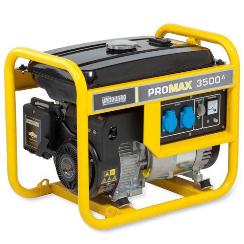 Генератор Briggs&amp;Stratton ProMax 3500 A, 3.4 kVA Max, 2,7 квтГенераторы и электростанции<br><br><br>Артикул: 110989<br>Бренд: Briggs&amp;Stratton<br>Родина бренда: США