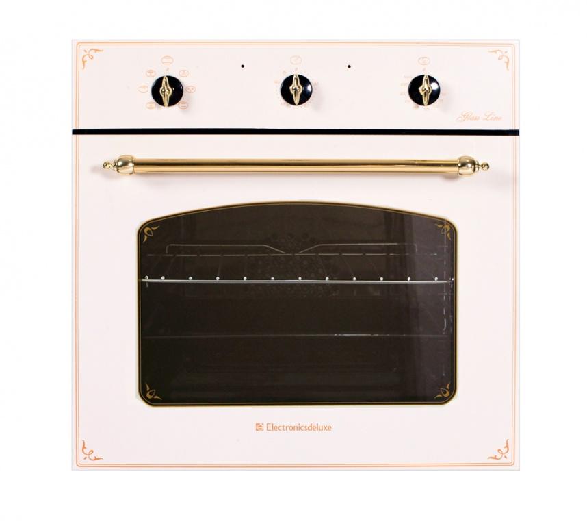Электрический духовой шкаф ELECTRONICSDELUXE 6006.03 эшв-001Встраиваемые электрические духовые шкафы<br><br><br>Артикул: 381<br>Бренд: Electronicsdeluxe<br>Потребляемая мощность (Вт): 2200<br>Количество режимов работы: 6<br>Таймер: да<br>Гриль: да<br>Конвекция: да<br>Установка: независимая<br>Гарантия производителя: да<br>Часы: нет<br>Дисплей: нет<br>Цвет: кремовый<br>Класс энергопотребления: A<br>Переключатели: поворотные<br>Объем духовки(л): 58<br>Дверца духовки: откидная<br>Очистка духовки: гидролизная<br>Количество стекол дверцы духовки: 2<br>Размеры Ш*В*Г (мм): 595x590x600<br>Размеры ниши для встраивания Ш*В*Г (мм): 565x582x570<br>Ширина встраивания: 60 см<br>Высота встраивания: 60 см