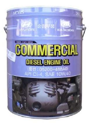 Масло Hyundai Commercial Diesel 10W-40 CI-4 (20л) от Ravta