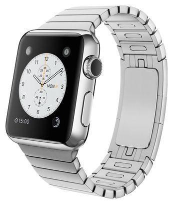 Умные часы Apple Watch 38mm Stainless Steel Case with Link Bracelet (MJ3E2) от Ravta
