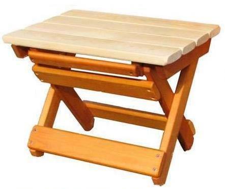 Табурет-скамья складная деревянная (арт.М91.12) от Ravta