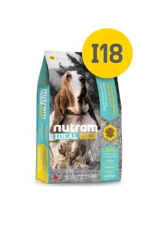 Корм Nutram I18 weight control Dog WB, для cобак контроль веса (белый пакет), 20кг от Ravta