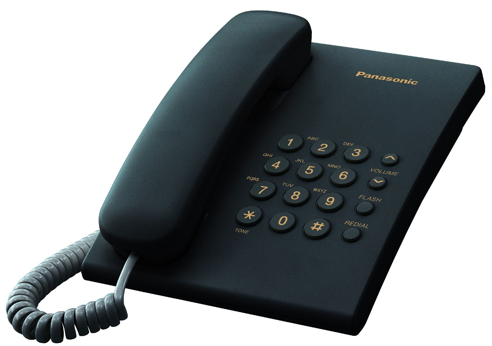 Телефон проводной Panasonic KX-TS2350RUB от Ravta